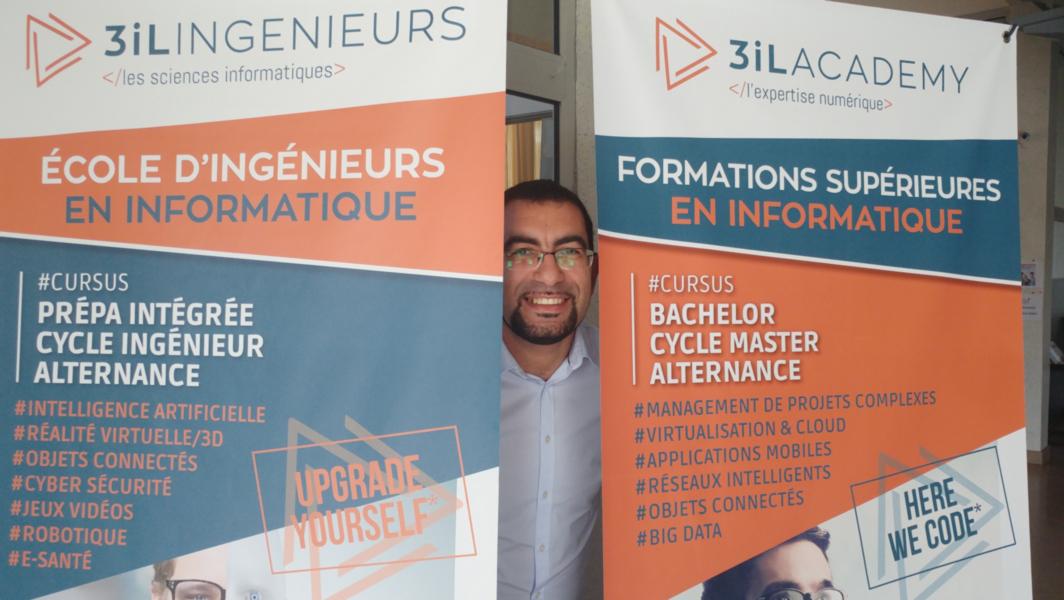 Petite Interview de Moustapha responsable logistique, systèmes et réseaux